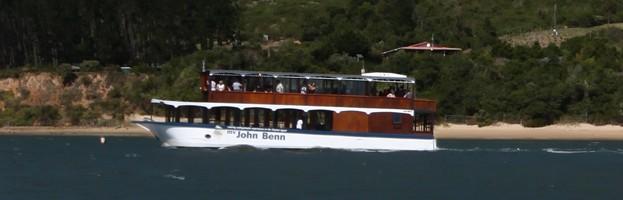 John Benn on knysna Lagoon