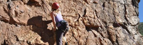 Rock Climbing with GoVertical
